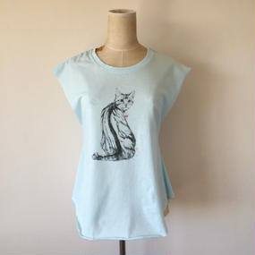 UNION CAT T-SHIRT (BLUE)