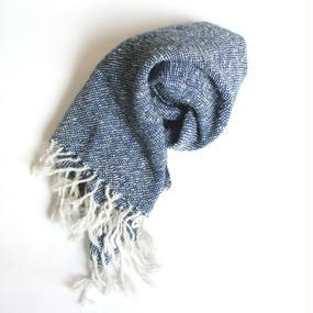 手織りショール アルパカ100%
