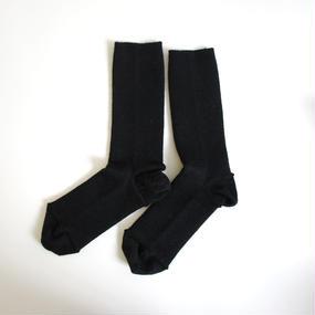ゴムなししめつけない靴下/ ブラック