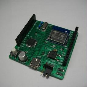 mkuBoard-44 (ESP-WROOM-02 +MCU搭載)