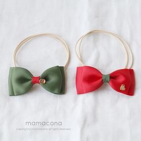 【追加販売】蝶ネクタイ/クリスマス(S・Mサイズ)12本
