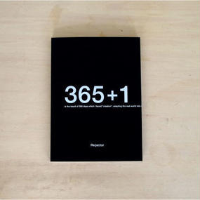 """ART BOOK """"365+1"""" by Re:jector"""