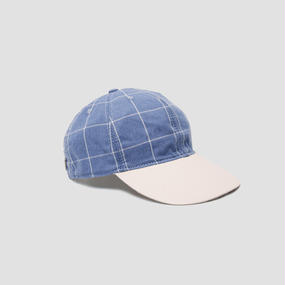 sun cap // pool blue