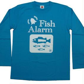 """""""Fish Alarm"""" ロングスリーブ T-シャツ"""