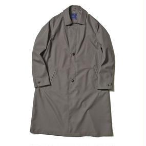 Dress Rip Travel Long Coat/GREY