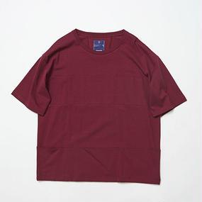 Single Jersey Packable Pocket Tee/WINE