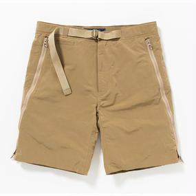 Ventile Loop Zip Board Shorts/BEIGE
