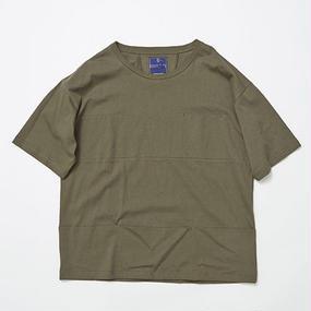 Single Jersey Packable Pocket Tee/KHAKI