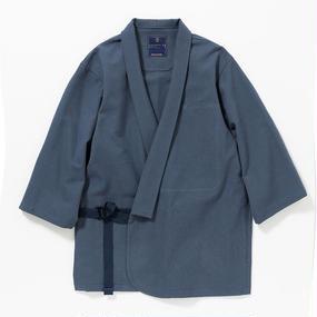"""Cotton Birds Eye Monk's Working Clothes """"SAMUE""""/NAVY"""