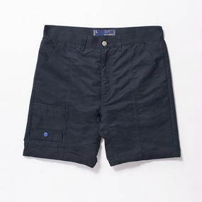 Peach OX Upside down Flap Sack Shorts/NAVY