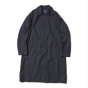 Dress Rip Travel Long Coat/NAVY