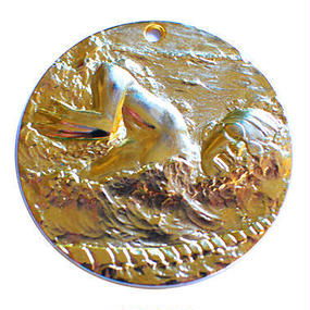 水泳クロールメダル