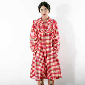 Gingham check COAT (受注中)