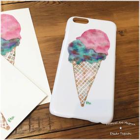iPhone6ケース/アイスクリーム