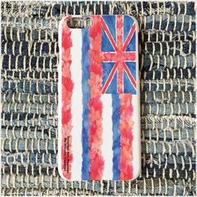 iPhone6ケース/ハワイ州旗(ホワイト)