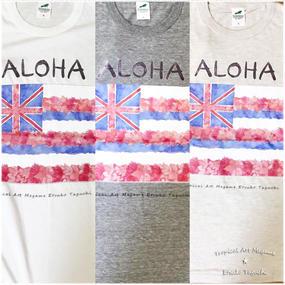 HAWAII州旗Tシャツ