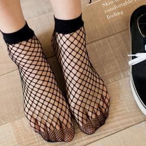B095 fashion mesh socks