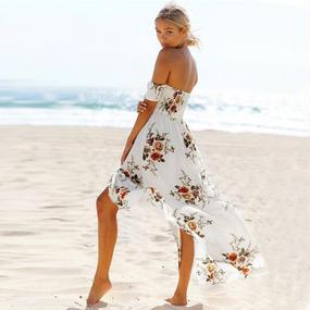 B115 Floral off-school summer dress