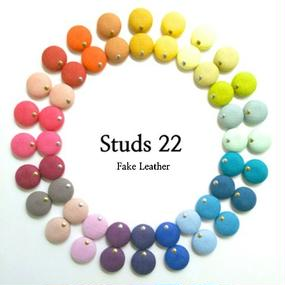 studs 22  /  Fake Leather