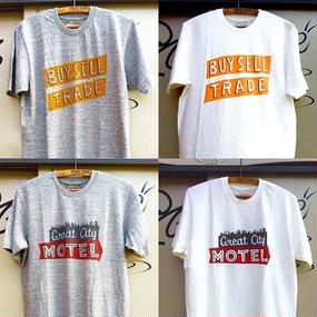 """""""LETTERS 8"""" T-shirts American Sign(BUY SELL)"""