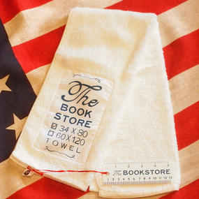 [THE BOOK STORE] Face Towel (White)