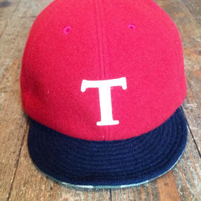 COOCHUCAMP HAPPY CAP [ Red×Navy/ T ]