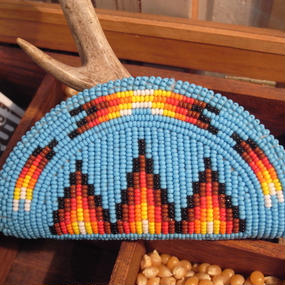 NAVAJO beads Work Coin Case