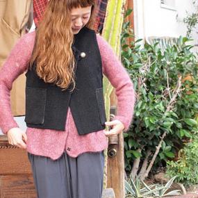 """""""TRUJILLO'S"""" Chimayo Vest (TIGRE BROCANTE 別注)Black"""