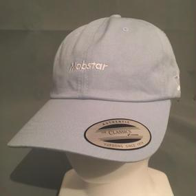 mobstar cap  vintage style     sky blue