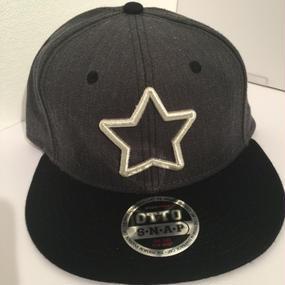 mobstar cap ヘザーブラック×ブラック シルバースター 2016 スナップバック