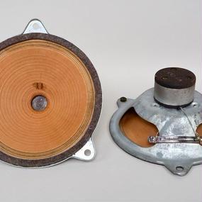 TESLA 8 inch × 2  / 1940'    ベークド蝶ダンパー
