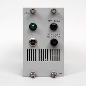 SIEMENS N224a / DC24V Power Supply Unit  / Green Eye