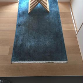 シルク絨毯 126×73cm
