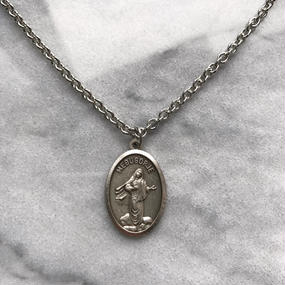 MEDUGORJE coin medai necklace