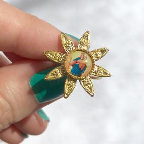 78 sun flower ring