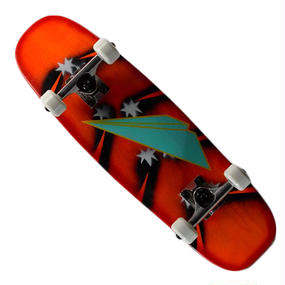 """PAPER AIRPLANES SKATEBOARDS キッズコンプリートスケートボード (Meteor) / 7.5"""" X 25.5"""""""