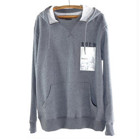 "RVCA ""Trust Pullover"" Hoodie/Gray Noise"