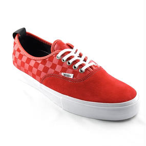 "VANS SYNDICATE AUTHENTIC 69 PRO ""S"" /RED / WHITE   US 9.0 (27cm)"