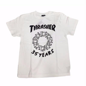Keith Haring × THRASHER 35th T-shirts  White