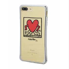 Keith Haring Collection TPU Case for iPhone 7 Plus (Running Heart)