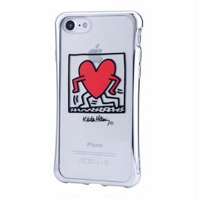 Keith Haring Collection TPU Case for iPhone 7 (Running Heart)