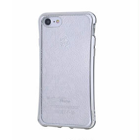 Keith Haring Collection TPU Case for iPhone 7 (People/Metallic Silver)