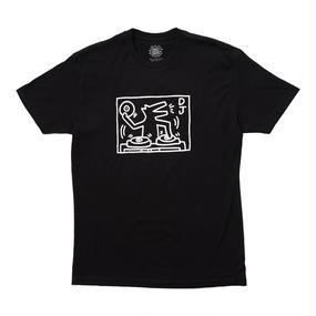 "Keith Haring Unisex T-Shirts ""DJ Dog "" キース・ヘリング ユニセックス Tシャツ"