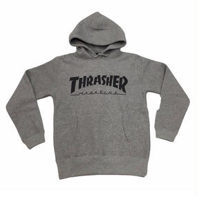 Keith Haring × THRASHER 35th Sweat Pullover   Gray