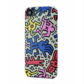 Keith Haring Collection PU Case for iPhone 7 (Chaos)