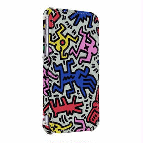 Keith Haring Collection Flip Cover for iPhone 7 (Chaos)