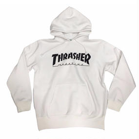 Keith Haring × THRASHER 35th Sweat Pullover  White