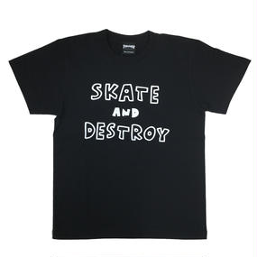 Keith Haring × THRASHER MAG LOGO T-shirts  Black