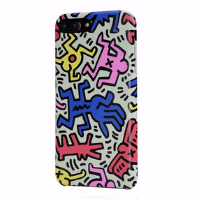 Keith Haring Collection PU Case for iPhone 7 Plus (Chaos)