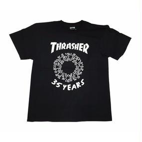 Keith Haring × THRASHER 35th T-shirts  Black